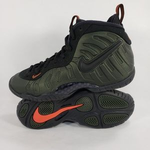 Nike Little Posite Pro GS Sequoia Green Foamposite
